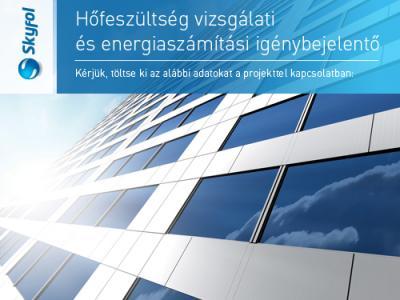 Hőfeszültség vizsgálati és energiaszámítási igénybejelentő